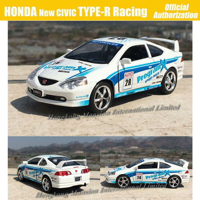 1 34 Scale Alloy Diecast Metal Car Model For Honda Integra Type R