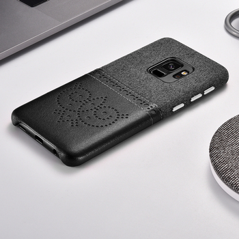 Xoomz מכירה לוהטת עבור Samsung S9 בתוספת S9Plus מקרה יוקרה גליטר מותג קשיח מחשב + עור שריון מלא מגן חזרה טלפון מקרה כיסוי