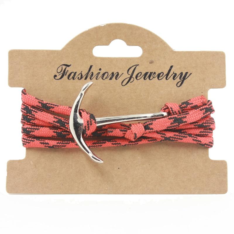 font b Anime b font Bracelets Movie Model Handmade Braided Red Ropes Bracelets Jewelry For