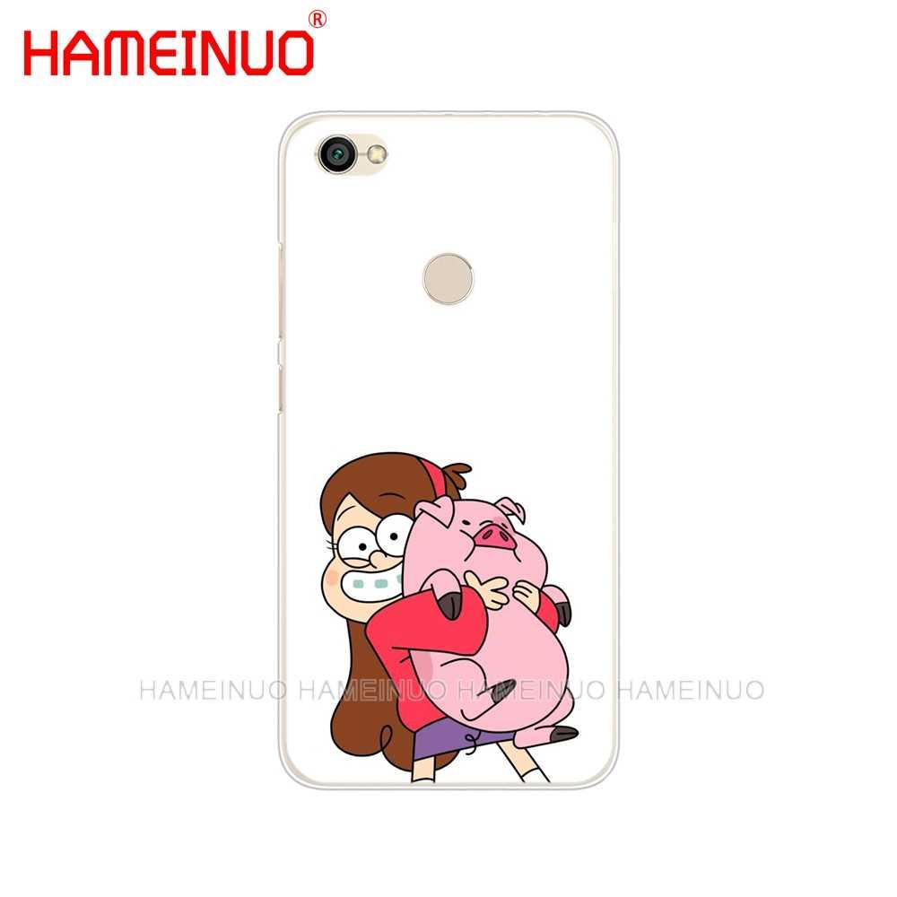 HAMEINUO Гравити Фолз чехол с рисунком свиньи чехол для телефона для Xiaomi redmi 5 4 1 1s 2 3 3s pro PLUS redmi note 4 4X 4A 5A