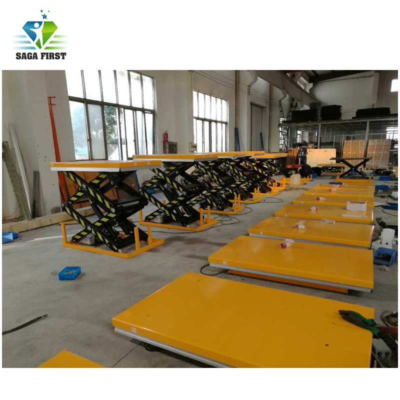 Electric Double Scissors Hydraulic Lifting Tables