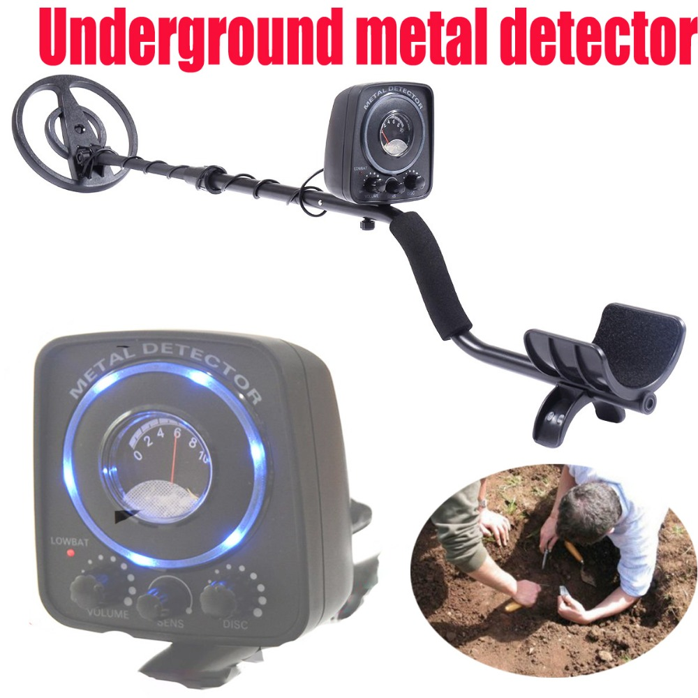 Underground metal detector ,Digital Metal tester Multifunction Industrial Treasure tools with Blue LED