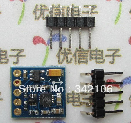 Free Shipping!  GY-271 HMC5883L Electronic  Compass Module Three-axis Magnetic Field Sensor