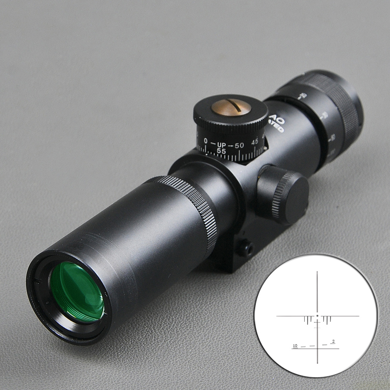 Bestsight 4x21 AO Compact Hunting Air Rifle Scope Tactical Optical Sight Glass Etched Reticle Riflescope With