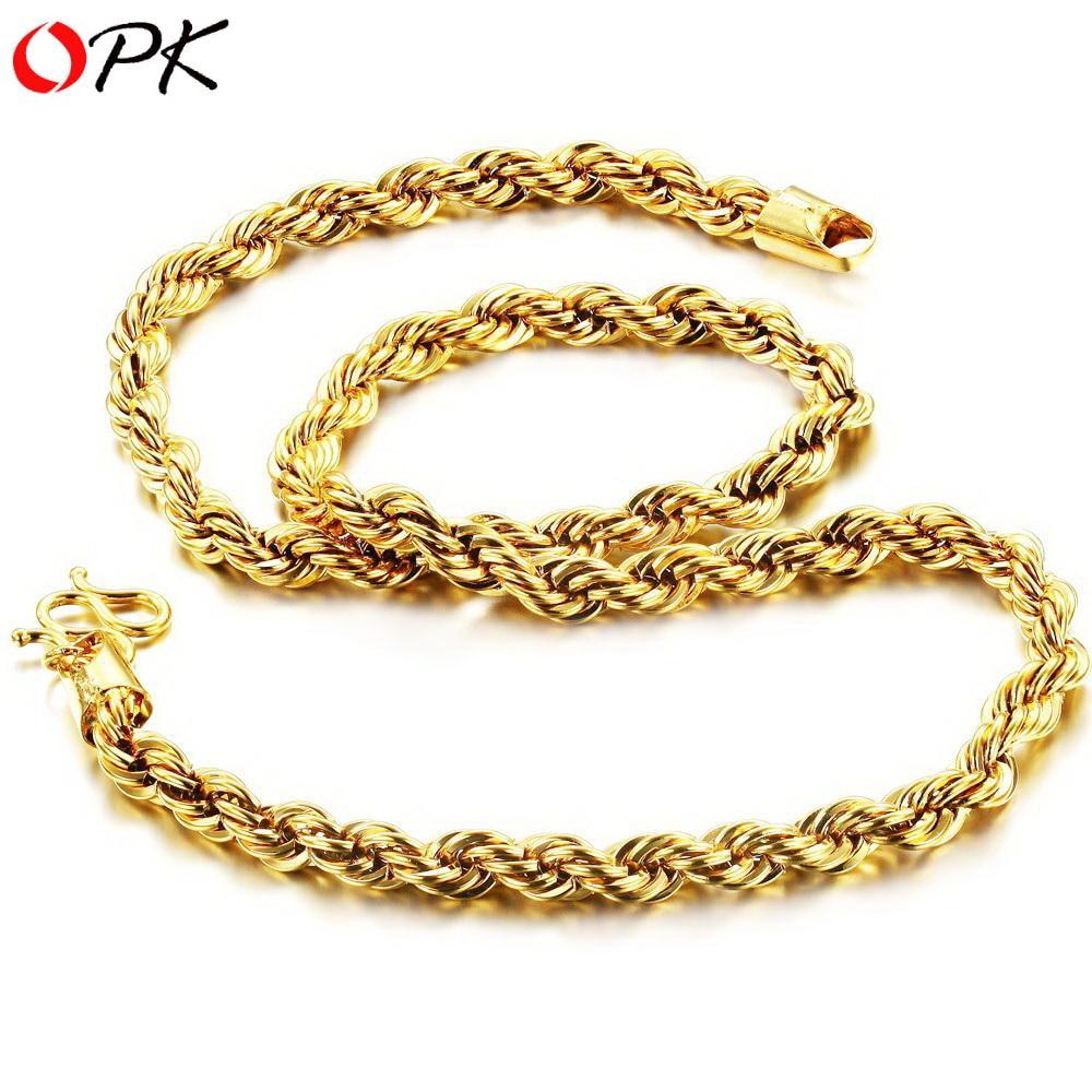 Aliexpresscom Buy OPK Korean style 18K GOLD Plated BRACELET