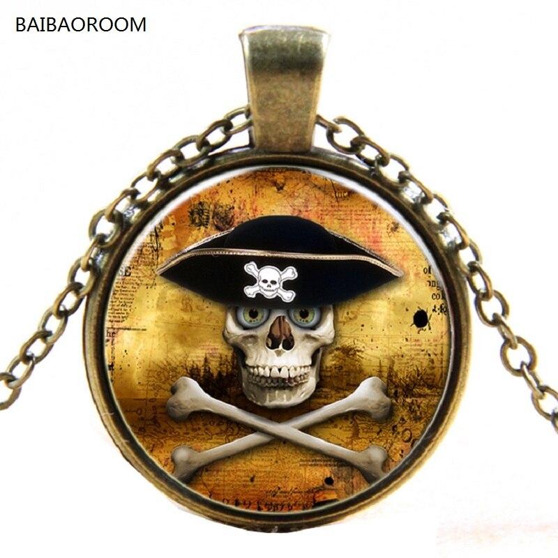 jewelry wholesale Pirates of the Caribbean skull retro ...
