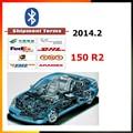 Frete grátis melhor Auto OBD OBDII scanner de diagnóstico de automóveis 150 2014 r2/r3 150 bluetooth ds150 com/sem bluetooth