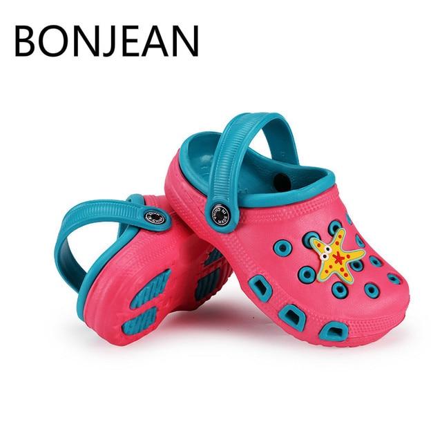 6c708f208e55c 2019 Mode Garçon Fille Plage Pantoufles Enfants Sandales D été de Bande  Dessinée Enfants Chaussures