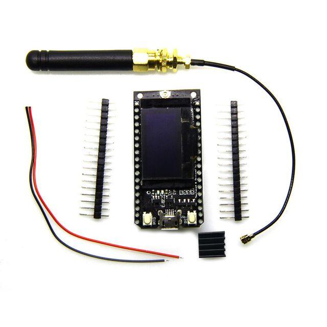 868 MHz/915 MHz SX1276 ESP32 LoRa 0,96 Zoll Blau Oled-display Bluetooth WIFI Lora Kit 32 Modul IOT Development Board für Arduino