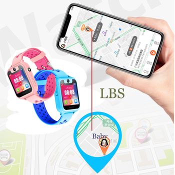 2019 Kids Smart watch LBS Smartwatches Baby Watch Children SOS Call Location Finder Locator Tracker Anti Lost Monitor Kids Gift