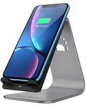 Bestand Fast Wireless Charger 2-coil Charging Stand Holder for all Qi-enabled Devices