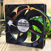 Free Delivery 9 S 12025 12 V 0 19 A 12 Cm Dual Ball Case Fans