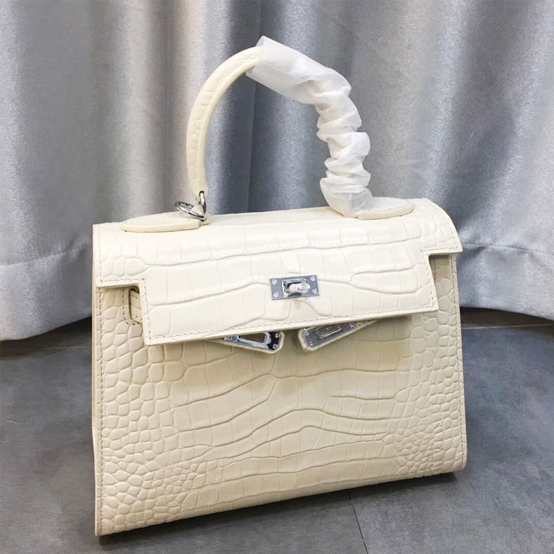 Head Layer Cowhide Crocodile Package Genuine Leather Portable Single Shoulder Satchel Classic Woman luxury handbags designerHead Layer Cowhide Crocodile Package Genuine Leather Portable Single Shoulder Satchel Classic Woman luxury handbags designer