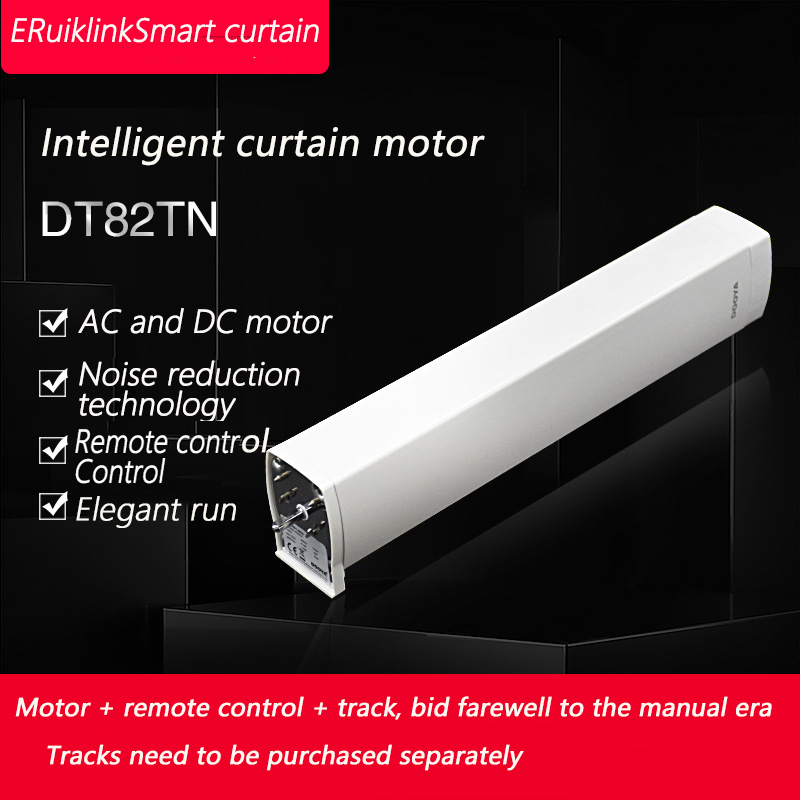 Original Dooya Electrical Curtain MotorDT82TN Remote Control 100-240V 50/60MHZ Smart Home Electric Curtain
