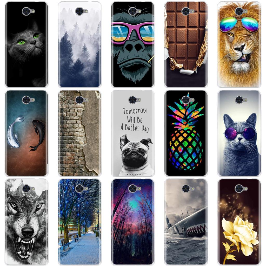 For <font><b>Huawei</b></font> Y7 <font><b>Case</b></font> For <font><b>Huawei</b></font> Y3 <font><b>2017</b></font> / Y5 <font><b>2017</b></font> / <font><b>Y6</b></font> <font><b>2017</b></font> <font><b>Case</b></font> Soft <font><b>Silicone</b></font> 3D Cover TPU Fundas Coque For <font><b>Huawei</b></font> Y7 Phone <font><b>Cases</b></font> image