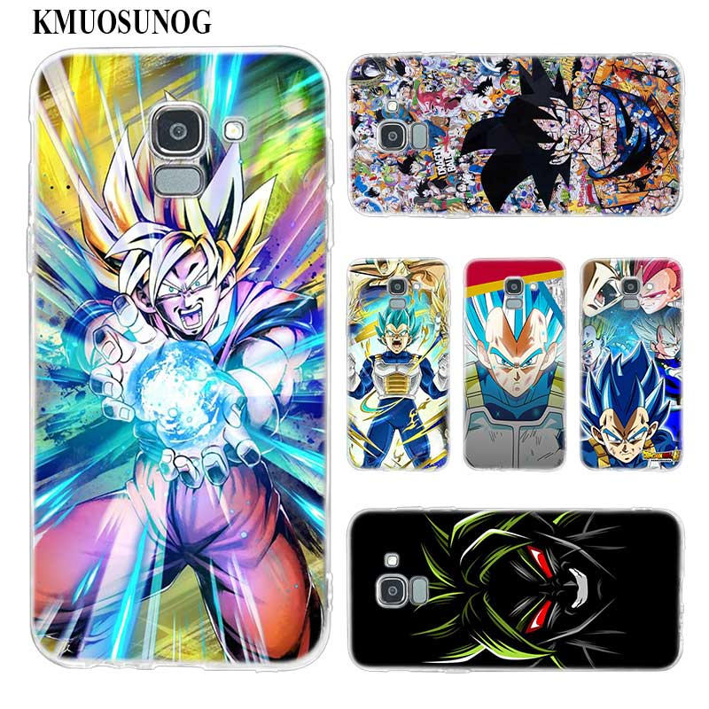 Responsible Dragon Ball Z Goku Silicone Tpu Phone Case For Samsung Galaxy J4 J5 J6 Plus J7 J8 2018 J5 J7 Prime Soft Cases Phone Bags & Cases Fitted Cases