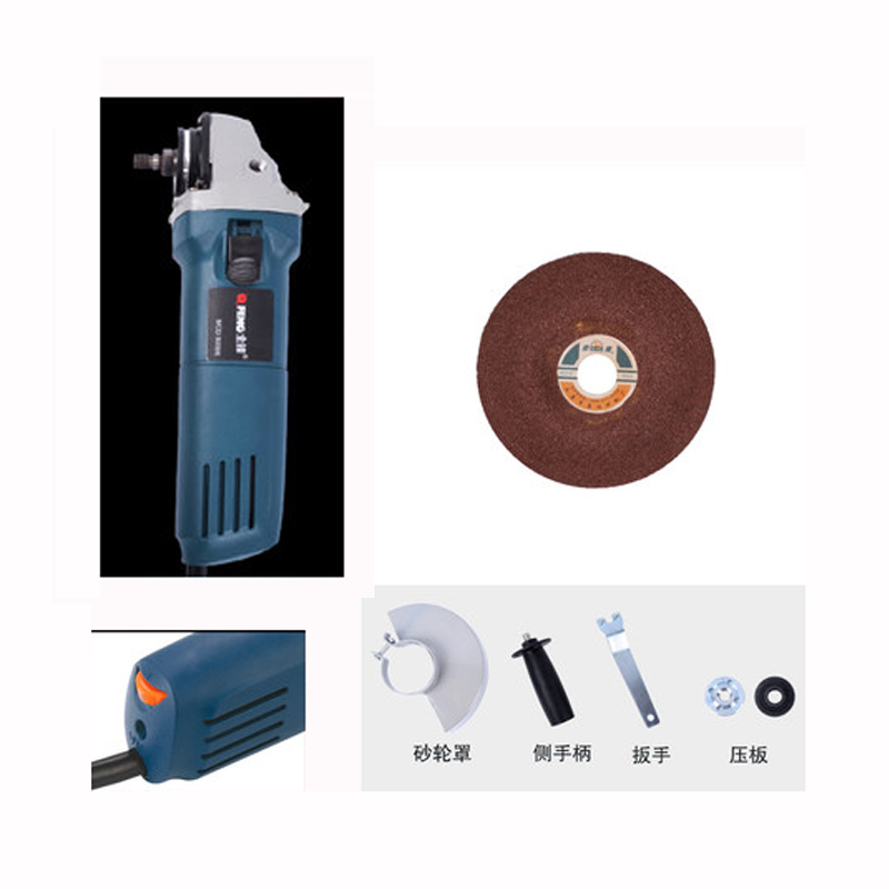 Angle Grinder Speed Control 880W Hand Mill Multi - Function Cutting Power Tool Polishing Machine Electric Grinder Angle Grind electric power tool angle grinder spiral