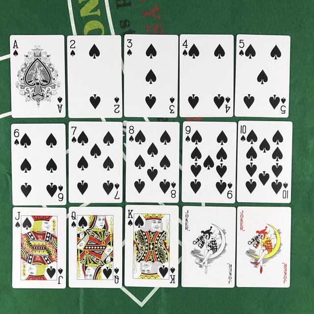 Waterproof Plastic Poker Cards