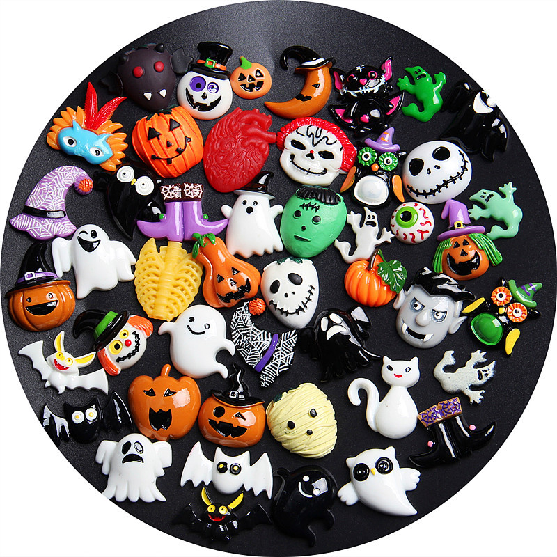 New Halloween Animal Addition Slime Filler for Slime DIY Polymer Addition Slime Accessories Toy Lizun Model Tool for Kids Toys E in Modeling Clay from Toys Hobbies