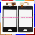 "3.0"" Black Phone For Nokia Lumia 501 N501 Touch Screen Touch Panel Digitizer Sensor Front Glass Lens Tracking Code Free Shipping"