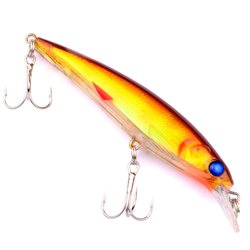 1pc outdoor sports lake river fishing lures 10 colors for Best lures for river fishing