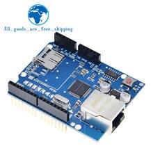 Blindage de câble ethernet UNO pour Arduino, carte de développement, compatible seulement W5100 R3 Mega 2560 1280 328 UNR