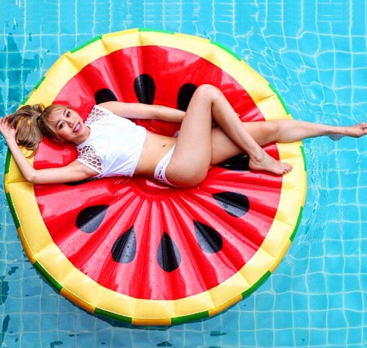 PVC 150cm watermelon round Bath Seat Chair baby swimming pool Dining Pushchair Infant Portable Play Game Mat Sofas Learn Stool baby seat inflatable sofa stool stool bb portable small bath bath chair seat chair school