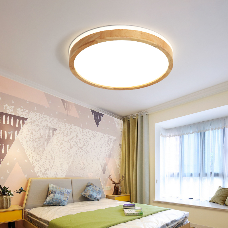 TRAZOS 220V LED Ceiling Lights Wooden Rectangle Ceiling Mounted Lamp For Living Room Round Ceiling Lamps Modern Wood LightingsTRAZOS 220V LED Ceiling Lights Wooden Rectangle Ceiling Mounted Lamp For Living Room Round Ceiling Lamps Modern Wood Lightings