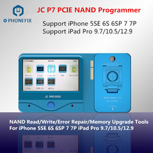 JC Pro1000S JC P7 PCIE NAND Programmer SN Read Write Repair Tool For iPhone 7 7P 6S 6SP iPad pro Memory Upgrade