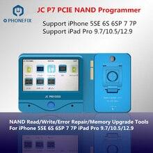 أداة إصلاح JC Pro1000S JC P7 PCIE NAND مبرمج SN قراءة الكتابة آيفون 7 7 P 6S 6SP آي باد برو ترقية الذاكرة