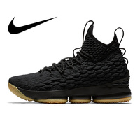 Original Nike Lebron 15 LBJ15 Men's Basketball Shoes Comfortable Outdoor Sneakers Athletic Designer Footwear 2018 New 897649