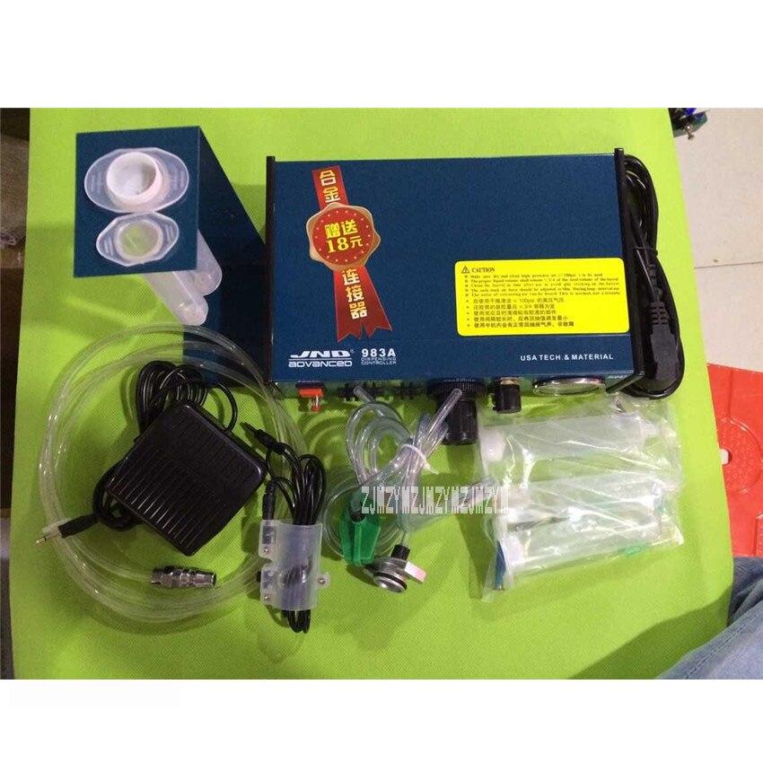 New Digital Dispenser JND983A High Precision Automatic Dispensing Machine Glue Injection Machine 220V / 50Hz 0.05MPa - 0.99MPa high quality ft 982 automatic glue dispenser dispensing machine with glue tips