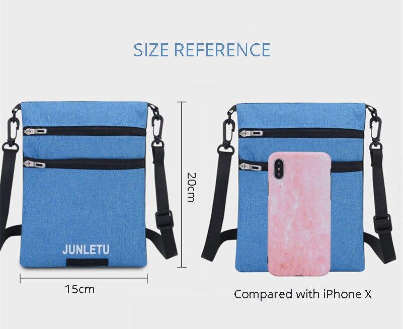 Capa de passaporte pescoço pendurado telefone sacos