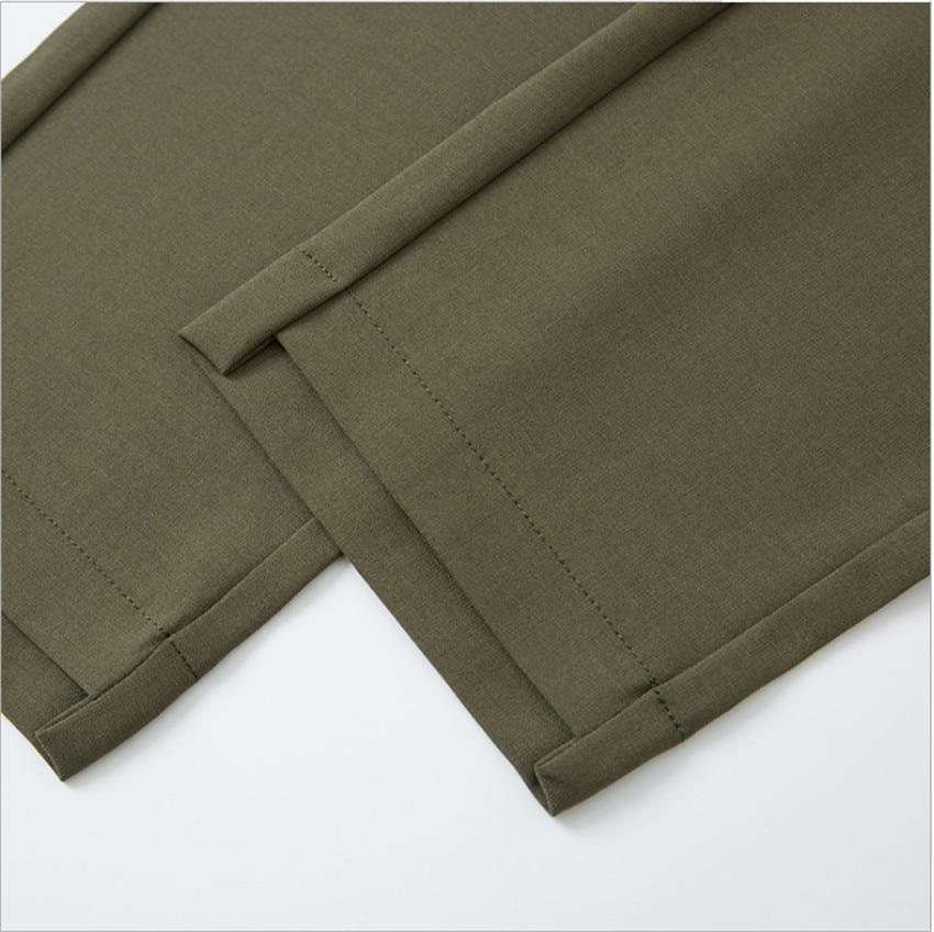 MLCRIYG Casual pants female new han edition of tall waist big yards wide feet pants