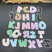 large alphabet dies word cutting dies 26 metal die alphabet Letters Name Card DIY stamps and dies for card making