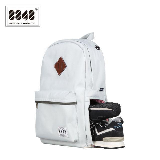 8848 حقائب الظهر الجديدة للرجال مع USB الشحن ومكافحة سرقة حقيبة كمبيوتر محمول الذكور مقاومة للماء حقيبة تناسب تحت 15.6 بوصة S15004 5