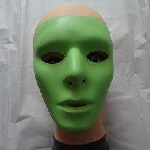 50pcs/lot Hip-Hop GHOST DANCE JabbaWockeeZ Mask Men and Women Halloween Luminous Face Green
