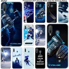 Ice Hockey Arena Olahraga Silikon Phone Case untuk Samsung Galaxy A80 A70 A60 A50 A40 A40S A30 A20E A2CORE M40 m30 M20 Catatan 9 8 Cover(China)