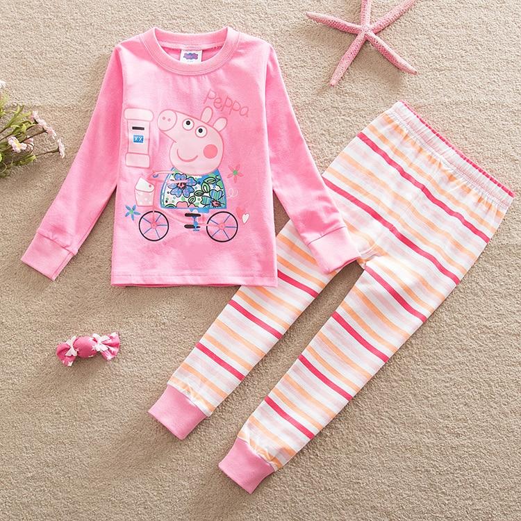 Christmas nova boys girls cotton kids pajamas set long t T shirt and shorts pyjamas
