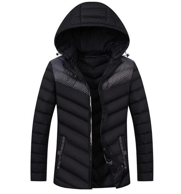 VENDA QUENTE 2016 dos homens novos de algodão xadrez jaqueta casual casaco Masculino Para Baixo dos homens jaqueta Casacos Jaquetas