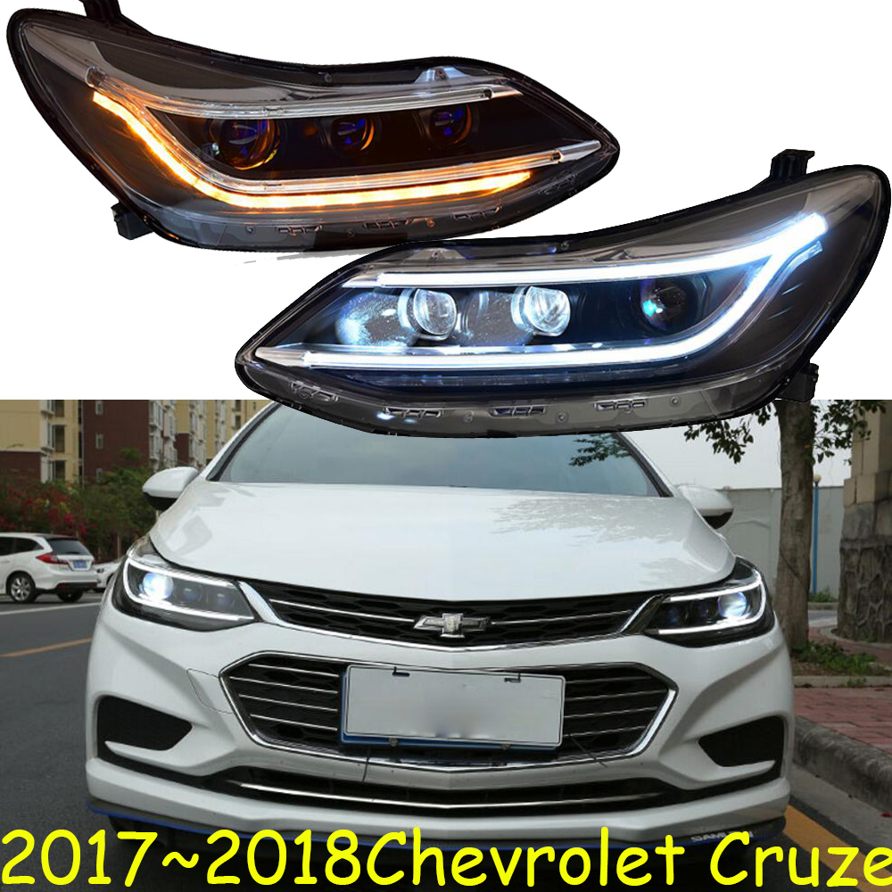 Motorcycle,Cruze Headlight,2017 2018,Free Ship!cruze Head