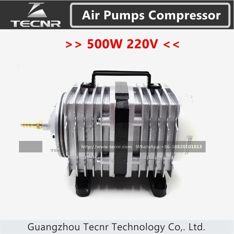 electromagnetic air pumps compressor 500W AC 220-240V aquarium 170L/min BOYU ACQ-012 for laser engraver parts Числовое программное управление