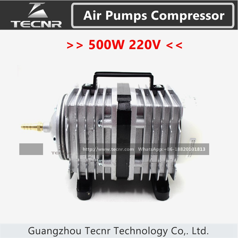 electromagnetic air pumps compressor 500W AC 220-240V aquarium 170L/min BOYU ACQ-012 for laser engraver  lathe parts