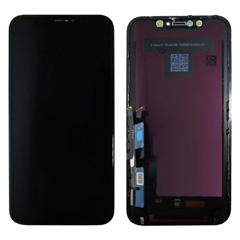 Pour iPhone xr d'origine nouveau écran lcd assemblée écran tactile numérique conversion verre