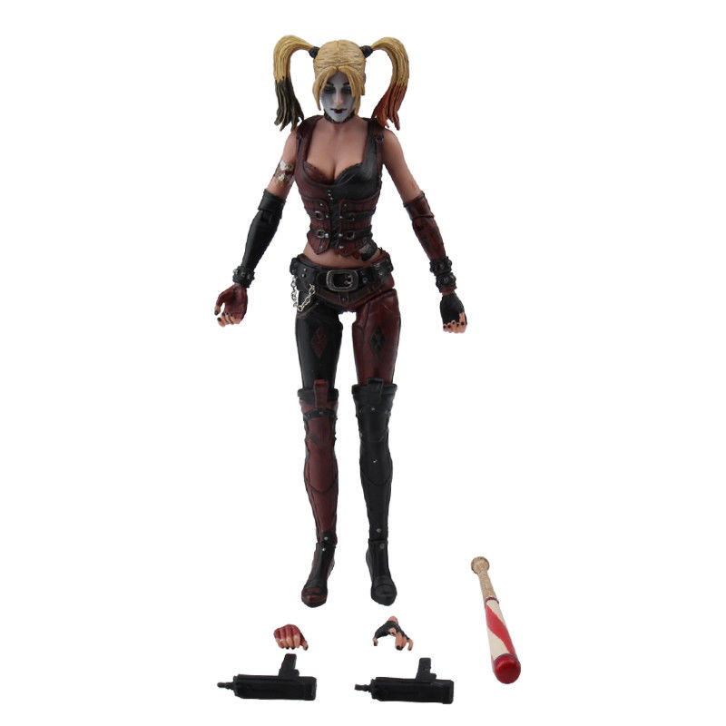 7 Batman Harley Quinn PVC Action Figure Collectible Model Toy 18cm 7inch pop Figures Keychain All with Original Box kids Gift all characters tracer reaper widowmaker action figure ow game keychain pendant key accessories ltx1