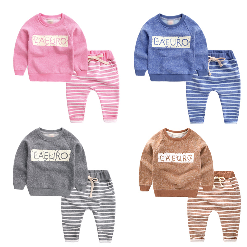 All for children Clothing and accessories Children's clothing set boy Girls Clothing Sets Boys Clothes for 6-8Y Kids Tops+Pants