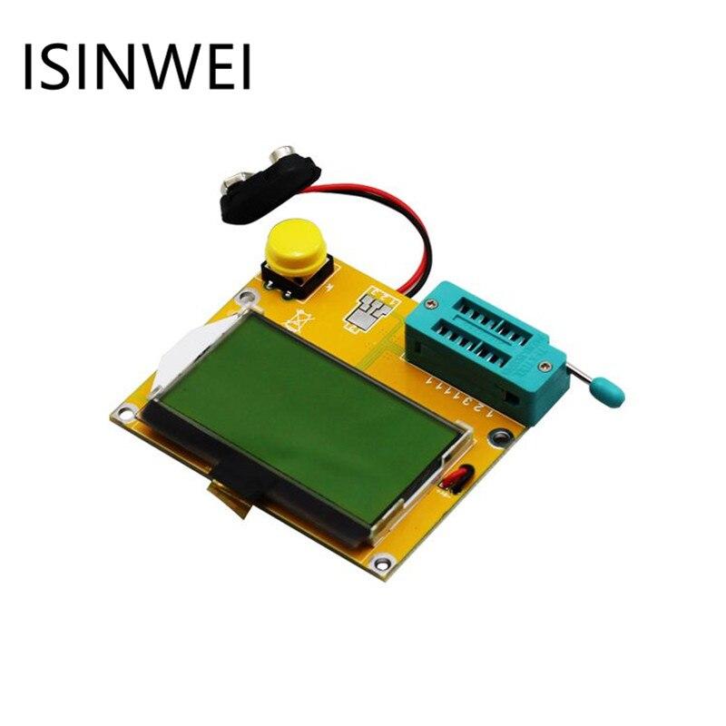 LCR-T4 ESR Meter LCR led Transistor Tester Diode Triode Capacitance MOS PNP/NPN Mega328 M328