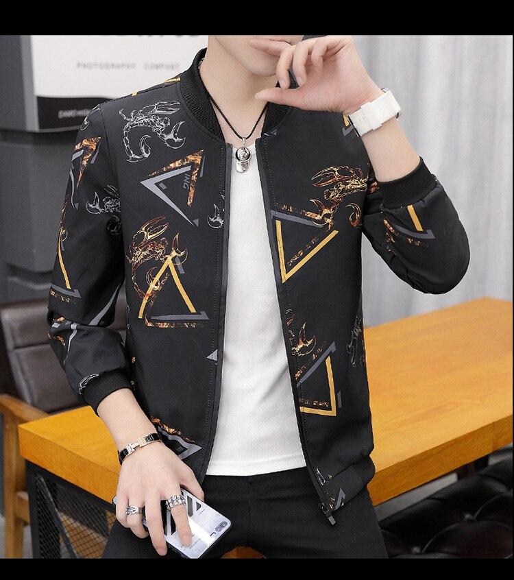 HTB1HZijXvvsK1Rjy0Fiq6zwtXXaM Printing Fashion 2019 Brand Mens Bomber Jacket Thin Men Baseball Jackets Casual Jacket Coat Overcoat For Male Clothing