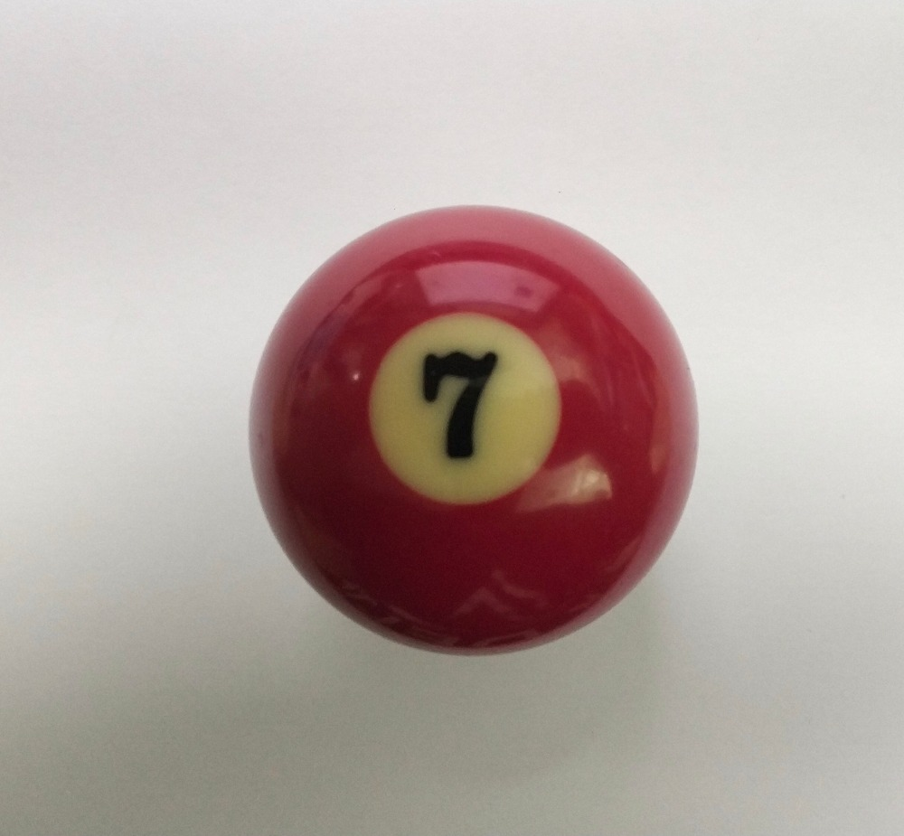 """NEW Free shipping 1pcs NO.7 Pool table snooker Billiard table Cue ball 2-1/4"""" 57.2MM"""