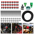 5m 10m 25m Water Hose 4/7mm Micro Drip Irrigation System DIY Garden Watering Kit for Greenhouse Plants Adjustable Drippers